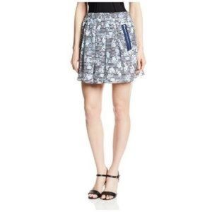 {PJK PATTERSON J. KINCAID} Silk Mini Skirt